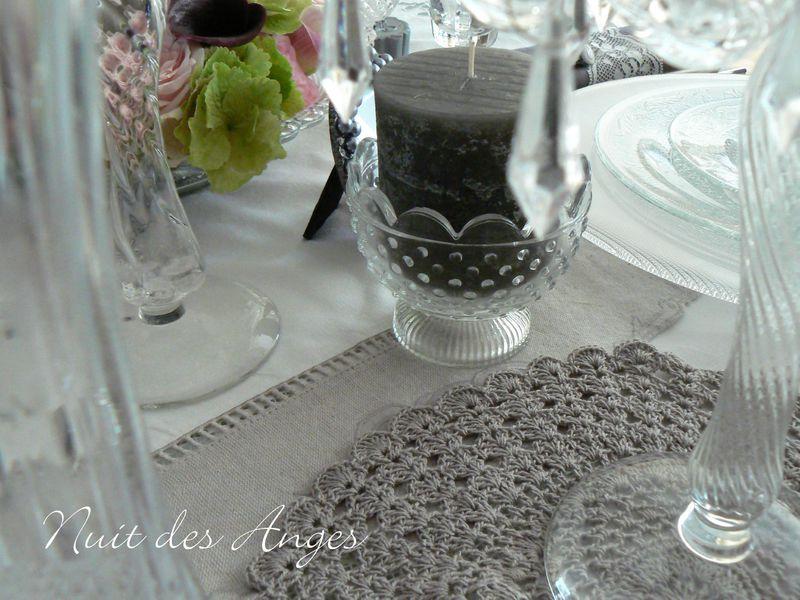 Nuit des anges décoratrice de mariage décoration de table féérique romantique 010