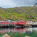 Les îles Lofoten dans la brume (15)