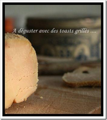 Foie gras de Canard cuit au sel