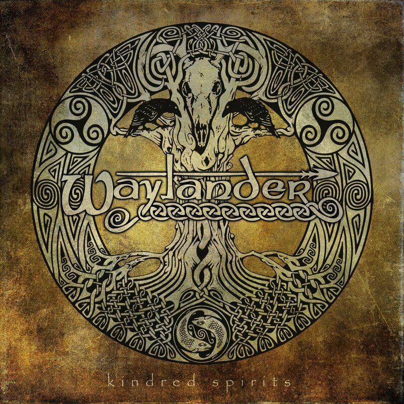 Waylander - 2012 - Kindred Spirits 1 Front