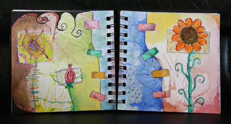 art journal gribouille 1