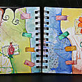 Art journal : envie de gribouillage !