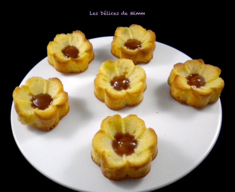 Fleurs aux pommes et au caramel au beurre salé 2