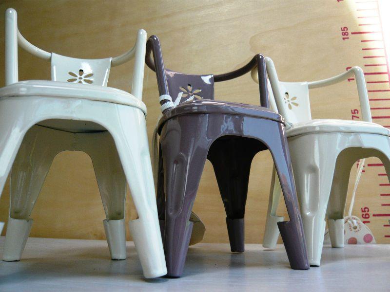 Chaise Metal Design Industriel Maileg