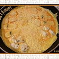 Omelette aux 4 fromages