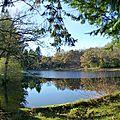 étang près de Blot- l'Eglise