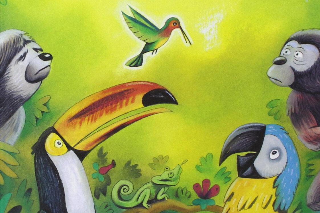 La Légende du Colibri...et sa morale
