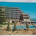 Ajaccio Hotel les calanques datée 1975