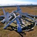 Nunavut - Resolute Bay reconstitution d'une maison de neige