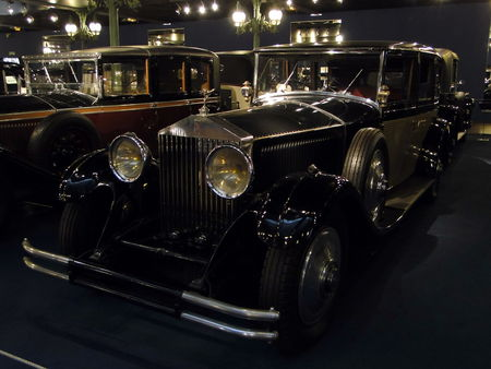 ROLLS ROYCE Limousine Phantom II 1930 Musée National de l'Automobile de Mulhouse, collection Schlumpf 2