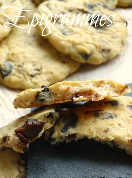 Cookies Haricots Olives Noires 02