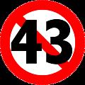 Dites 43 !