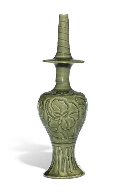 The Yaozhou Kundika, holy water bottle, Northern Song dynasty, 11th-12th century
