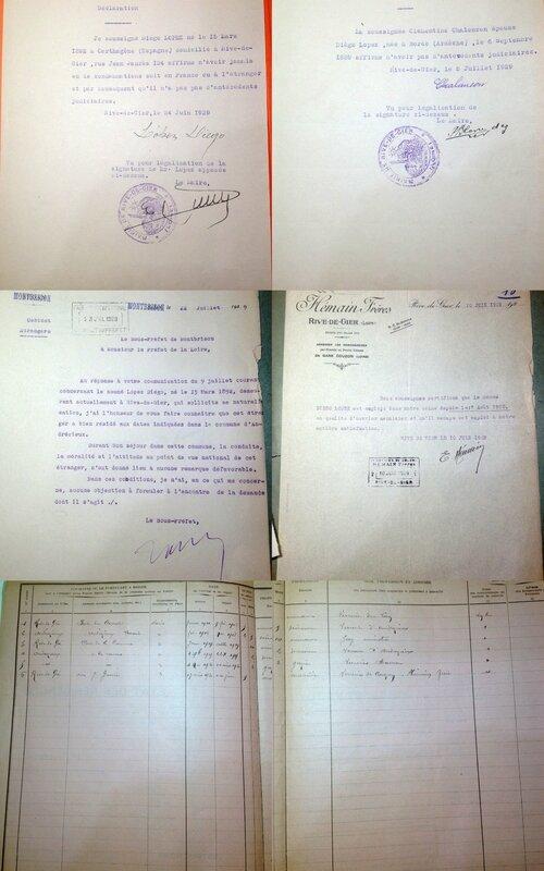 Dossier de naturalisation Diégo 2