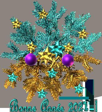 2021-bonne-année--branche-sapin-bleu-et-or