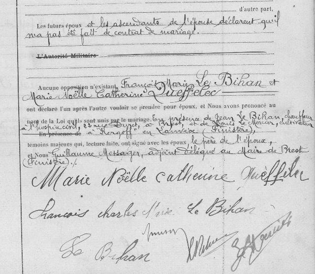 Mariage de François Le Bihan x Catherine Queffelec_2