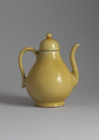 10_Yellow_glazed_Porcelain_Ewer___Cover
