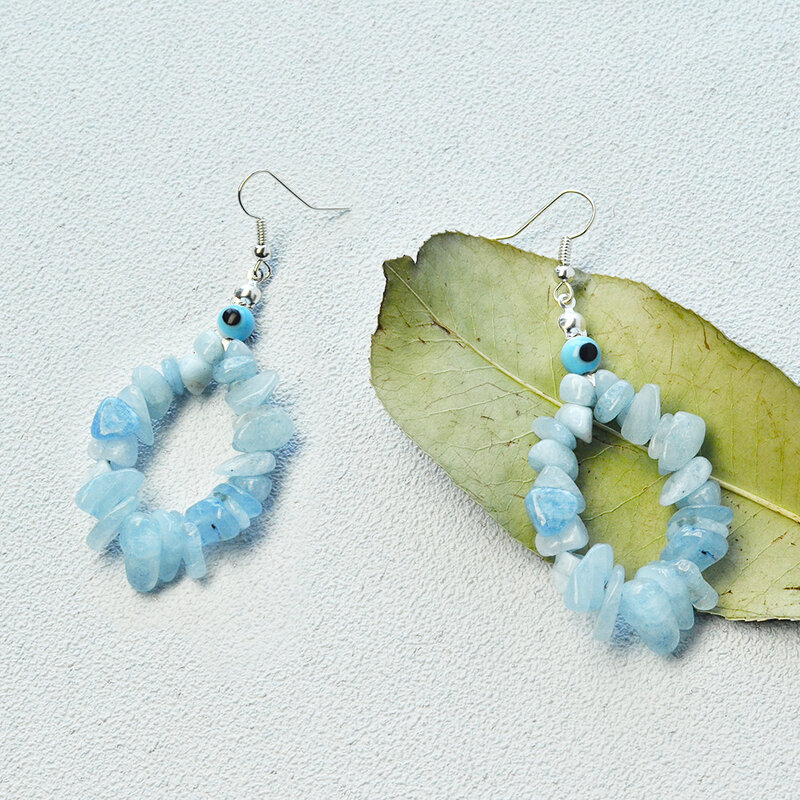 Tutorial-on-Making-Dangle-Earrings-with-Natural-Aquamarine-Chips-Beads-4
