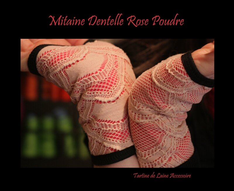 MITAINE ROSE COQUILLE