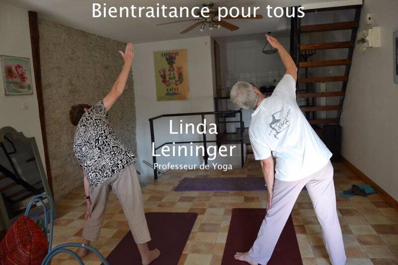 Linda Leininger Naturopathe - Linda Leininger Professeur de Yoga - sénior