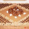 Gâteau mousse choco-café