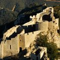 Pays Cathare, chateau de Peyrepertuse