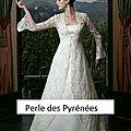 - 70 % déstockage ! manteau de mariée en dentelle t 38 blanc (réf mant-dent)