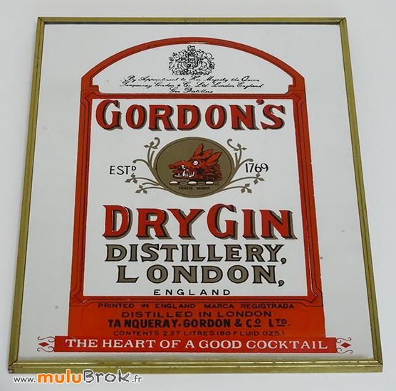 GORDONS-DRY-DIN-1-Miroir-publicitaire-muluBrok-Vintage-