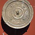 Miroir, bronze, époque Han-Viet, c. 1er-3e siècles.