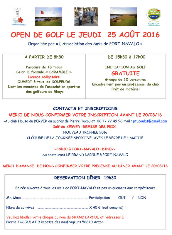 flyer open de golf 2016-2
