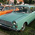 Ford taunus 12m p4 2 portes 1962-1966