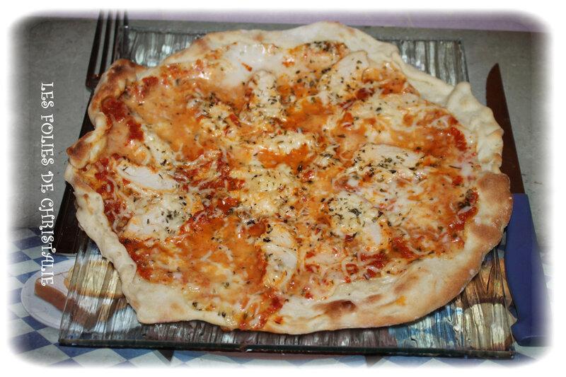 Pizza poulet 5