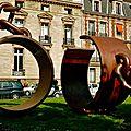 Exposition place du Gal. Catroux.
