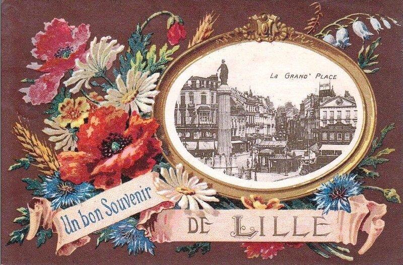 CPA Lille Souvenir