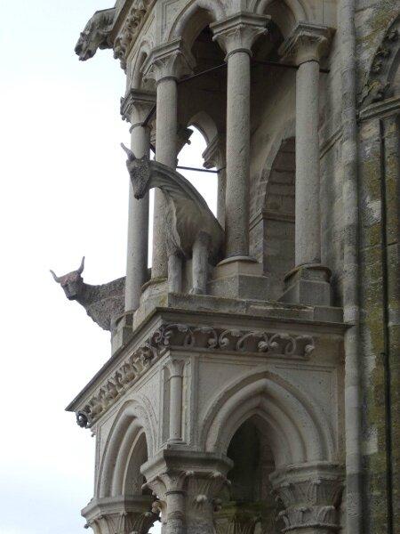 Bœufs cathédrale Laon