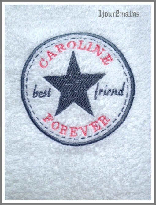 serviette best friend caro