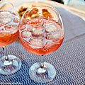 Martini rosato & tonic
