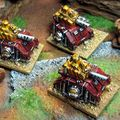 Epic 40k : predators convertis peints