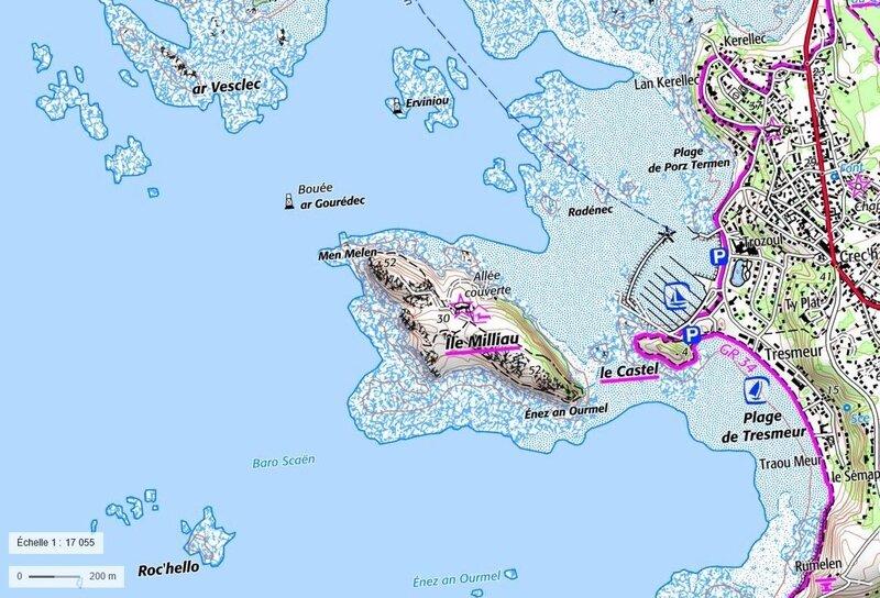 Carte topographique IGN