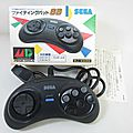 Mega drive : manette 6 boutons