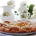 Gâteau lorrain aux mirabelles bio.....