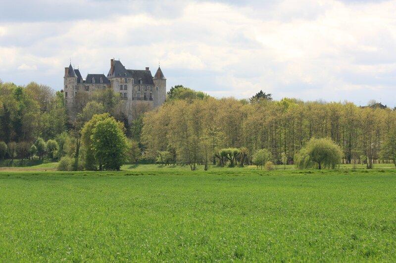 Château de Saint-Brisson-sur-Loire vu du val (Photo A. Estienne)