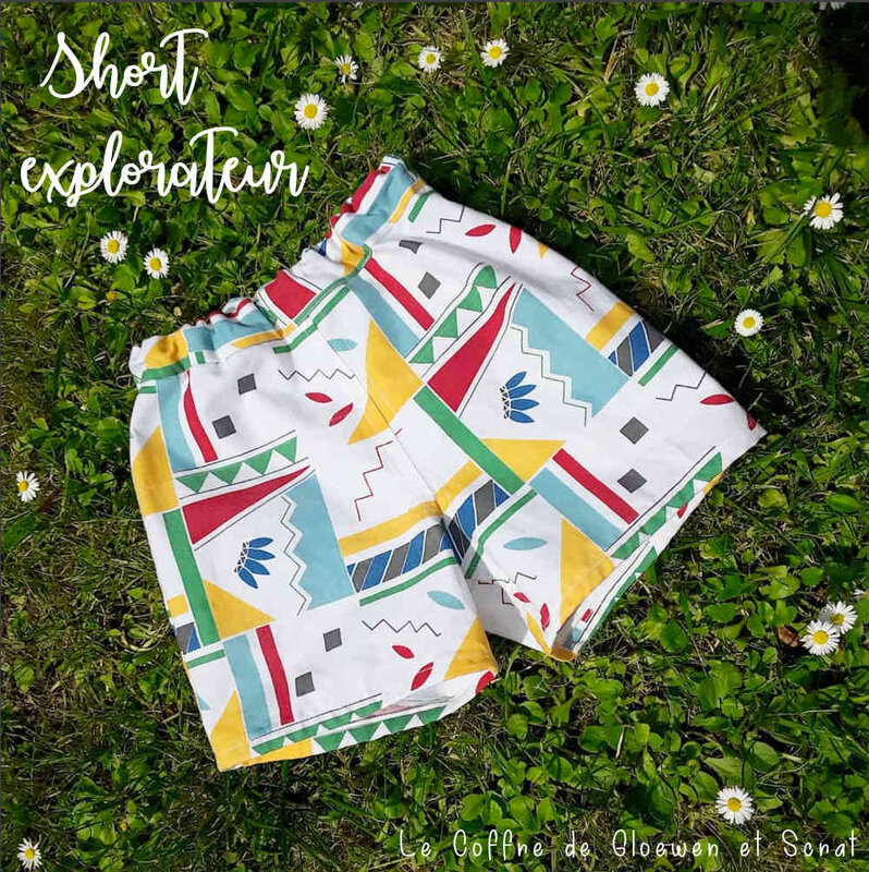 Short explorateur 6