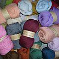 Laines à tricoter