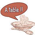 Vendredi 6 juillet - - on mange quoi (ce soir) ? idées de repas / menu de la semaine