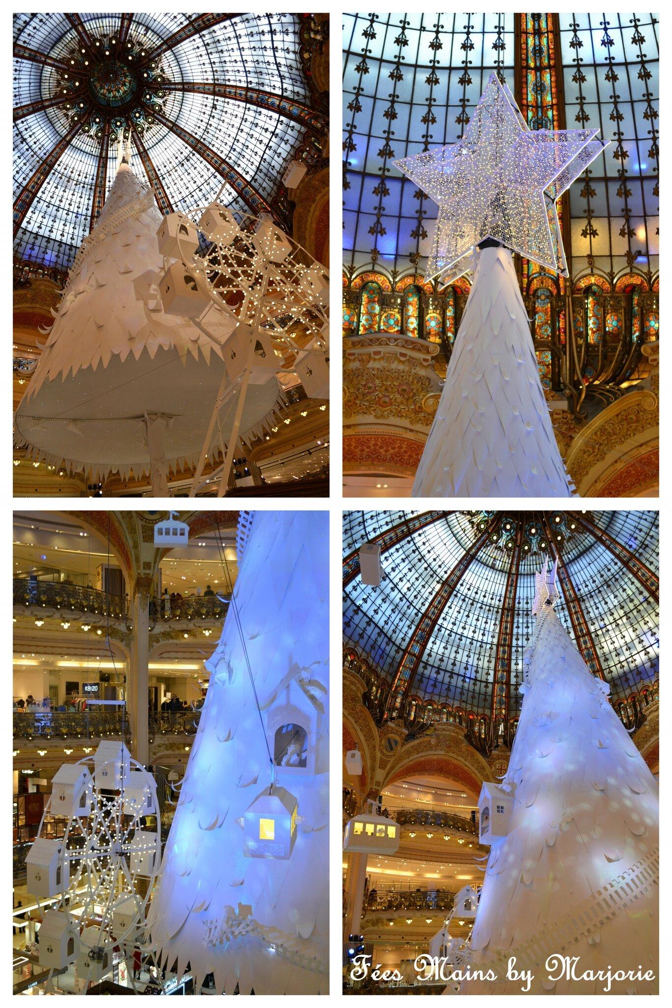 Féerie de Noël Grands magasins Paris Haussmann1