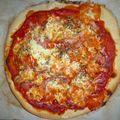 Le retour du pizzaïolo...