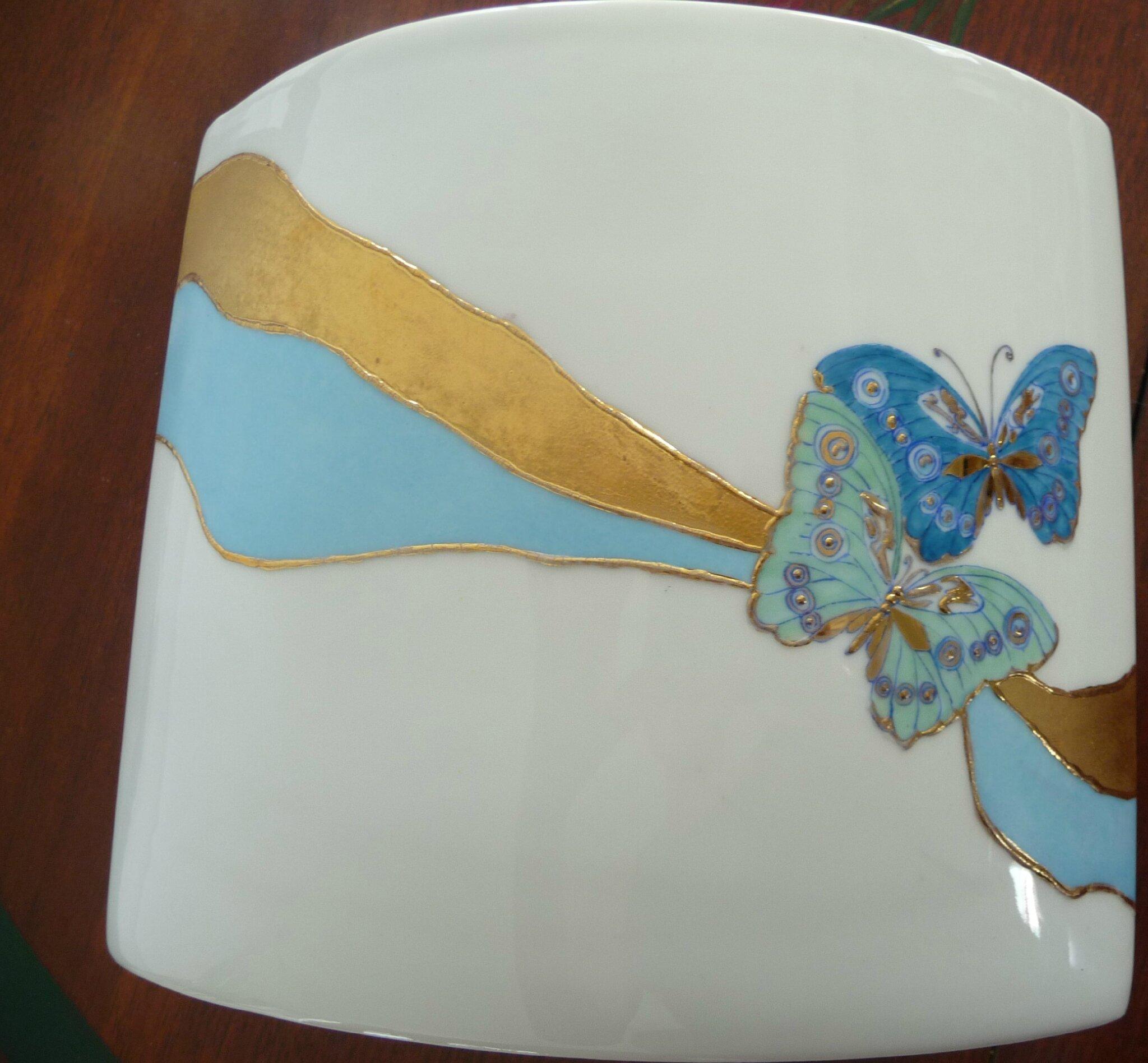 Envolée de papillons (verso)