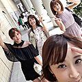 Photos & vidéos twitter : ( [account @kimito_ayumi] - |2017.07.22 - 09h12| ayumi, mana, miri & nanami )