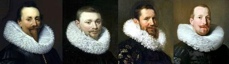 Portraits hollandais 1620-1629